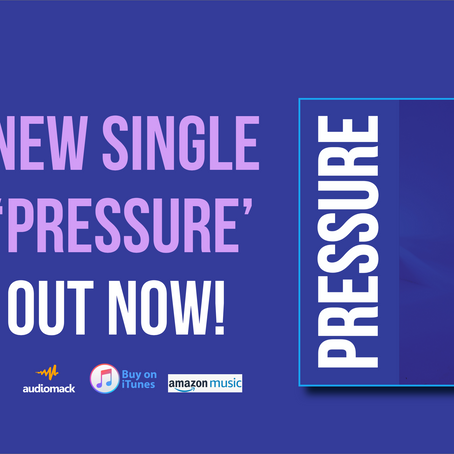 """Pressure"" Out NOW!"