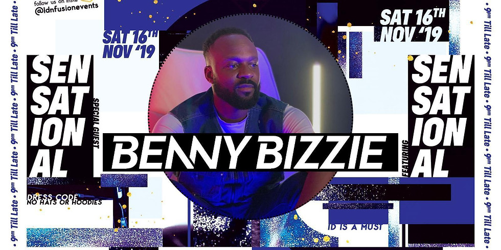 Benny Bizzie - Live P.A at The Ravensbury