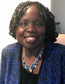 Mary Onama, LMSW, is  executive director of VSC.