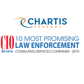 Chartis Federal Named Top 10 Most Promising Law Enforcement Services Firm