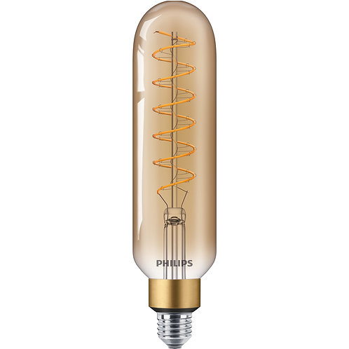 Philips T65 LED classic-giant 40W E27 GOLD DIM with Vintage cord 吊燈