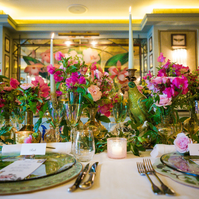 The Ivy Tablescape