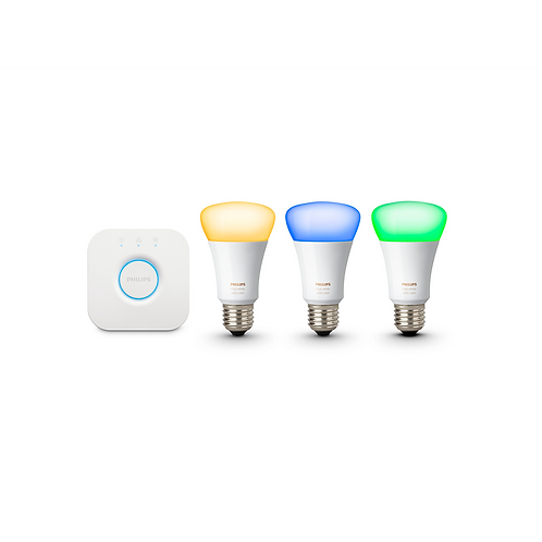 Philips Hue White and color ambiance Starter Kit 入門套件 10W A60 E27 3 set HK/SG