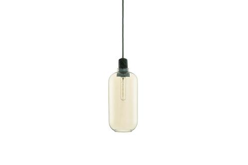 Normann Copenhagen AMP pendant lamp Large (gold/green) 玻璃吊燈