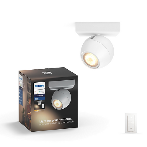 Philips Hue Buckram Single Spotlight 飛利浦單頭聚光燈 50471  1x5.5W