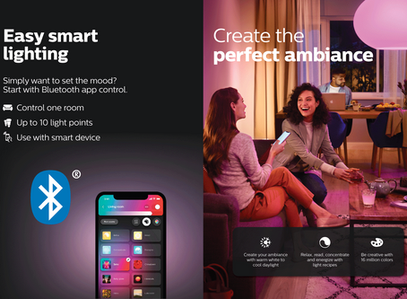Philips Hue Bluetooth 智能燈具入門