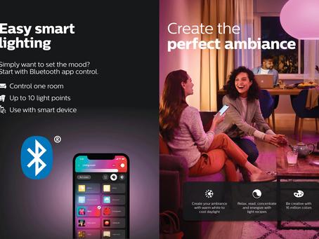 Philips Hue Bluetooth 智能燈具入門
