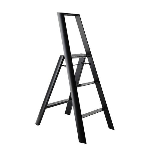 Hasegawa Lucano 3 step stool (Black) 鋁梯