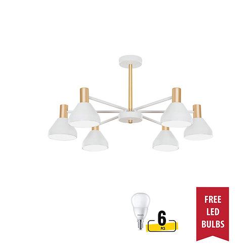 Philips Lighting 44056 FANLUO 6H Gold ceiling lamp 飛利浦天花燈