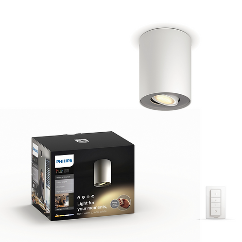 Philips Hue Pillar Single Spotlight 飛利浦柱狀單筒聚光燈 56330 1x5.5W