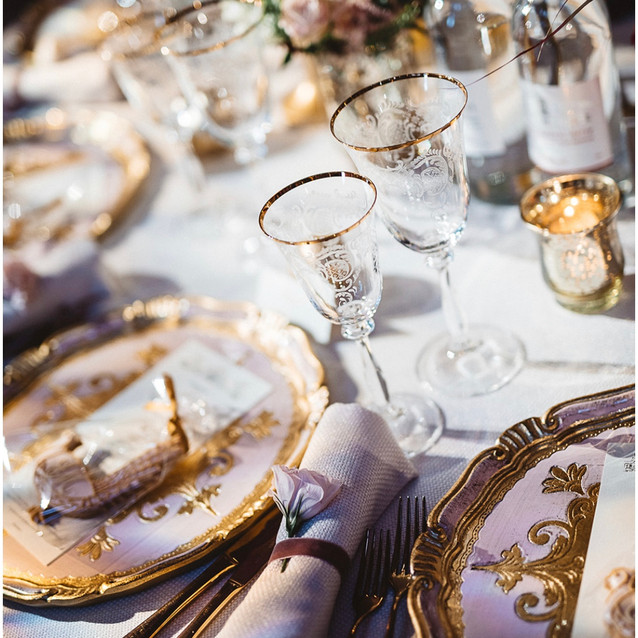Blenheim Tablescape