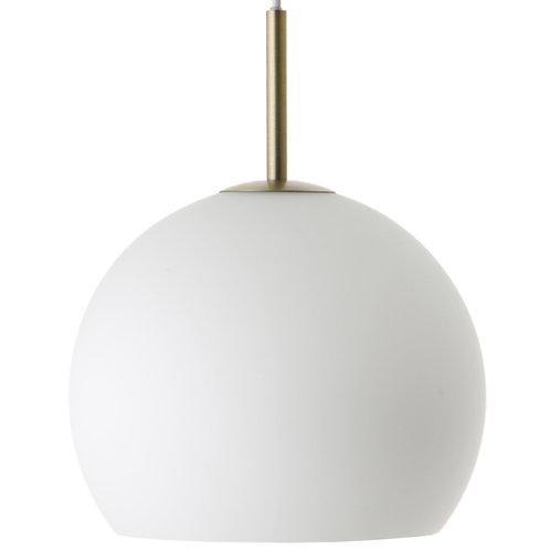 Frandsen Ball Glass Pendant (Matt opal white) 吊燈 by Benny Frandsen