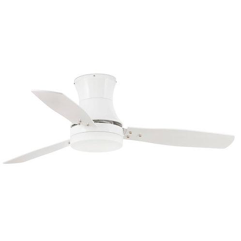 Faro Barcelona TONSAY white ceiling fan 33384 西班牙品牌風扇燈