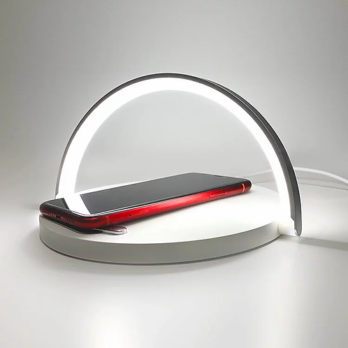 Qivation TiO2 Wireless Charging Pad (WQ10002) 光觸媒消毒殺菌無線充電板檯燈