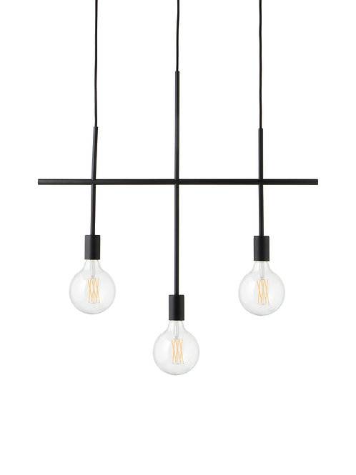 Frandsen HARPER 3 Arms Chandelier (Matt black) 吊燈