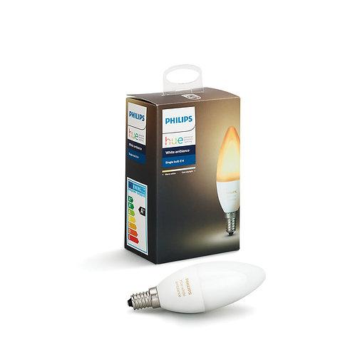 Philips Hue Ambiance Single bulb E14 6W B39 飛利浦Hue E14燈泡