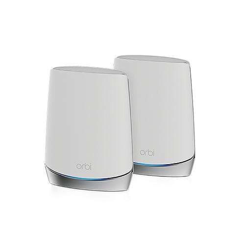 NETGEAR Orbi Mesh WiFi 6 專業級三頻路由器 2 件套裝 (RBK752)