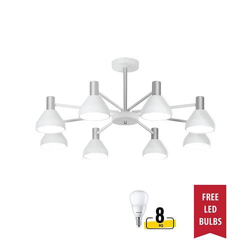 Philips Lighting 44055 FANLUO 8H Silver ceiling lamp 飛利浦天花燈