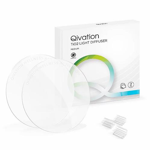 Qivation TiO2 Light Diffuser (medium) 光觸媒消毒殺菌燈罩片