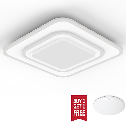 Philips Lighting Swirl 41123 (Square) 70W LED Ceiling light 飛利浦天花吸頂燈