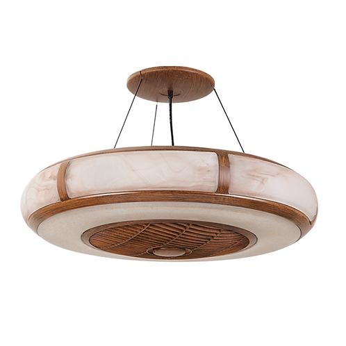 "Vento Aura Walnut 26"" pendant fan lamp 胡桃木紋26吋風扇燈(消費券優惠)"