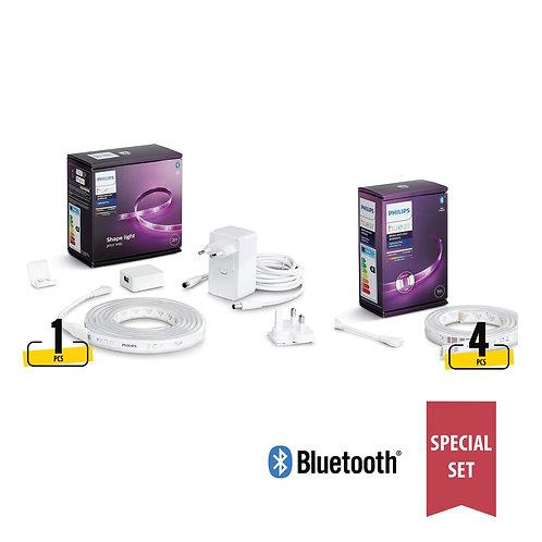Philips Hue White & Colour Ambiance LightStrip (Bluetooth) special set 藍芽燈帶套裝