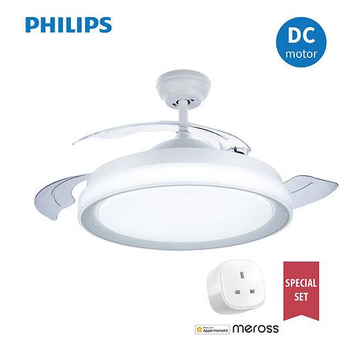 "Philips Lighting FC570 28W+36W DC White LED Ceiling Fan 42"" 飛利浦風扇燈"