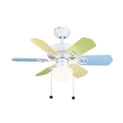 SMC Fan HK HM326CF-ML (Code: B3) 簡樸系列彩色風扇燈