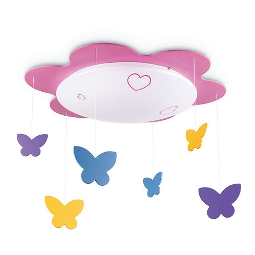 Philips Lighting LED KIDSPLACE Ceiling Light 77500 (Butterfly) 飛利浦兒童吸頂燈