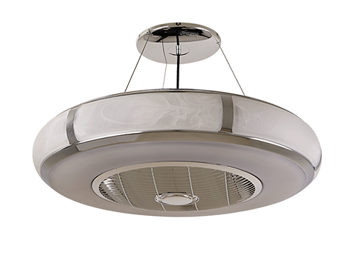 "Vento Aura Chrome 26"" pendant fan lamp 銀河鉻26吋風扇燈(消費券優惠)"