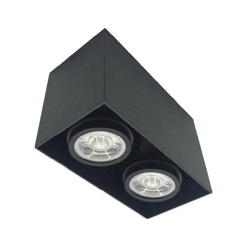 Bosonic GU10 5Wx2 Surface Mounted Spotlight GU10 LED盒仔射燈 879-SQ-GU10-2