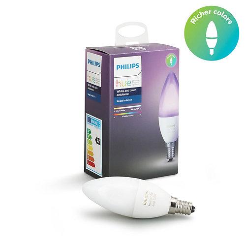 Philips Hue Single bulb E14 6W B39 飛利浦Hue E14彩色燈泡