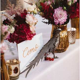 Pheasants and Flowers