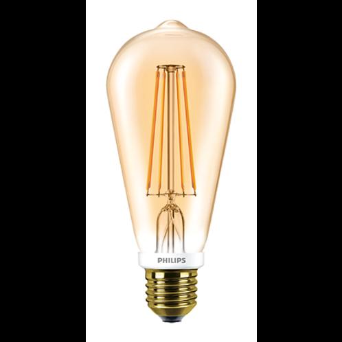 Philips LED Classic 7-60W ST64 E27 2000K GOLD APR 871869657485000燈泡