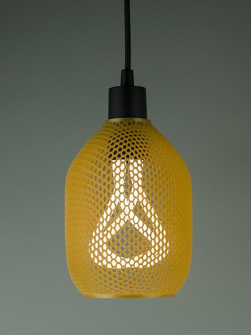 Plumen Hive pendant honey gold shade