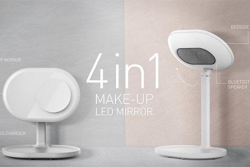 MOMAX Q.Led Mirror Lamp w/Wireless Charging and Bluetooth Speaker 化妝鏡燈連無線充電及藍牙音箱