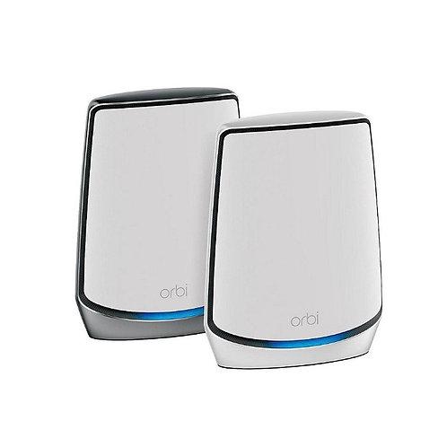 NETGEAR Orbi Mesh WiFi 6 旗艦級三頻路由器 2 件套裝 (RBK852)