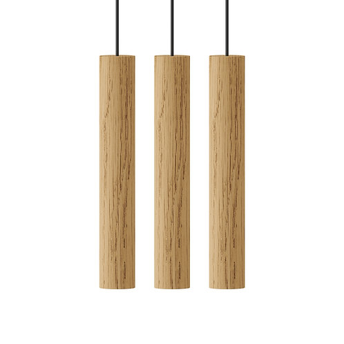 Umage CHIMES Cluster 3 pendant lamp 橡木吊燈 by Asger Risborg Jacobsen