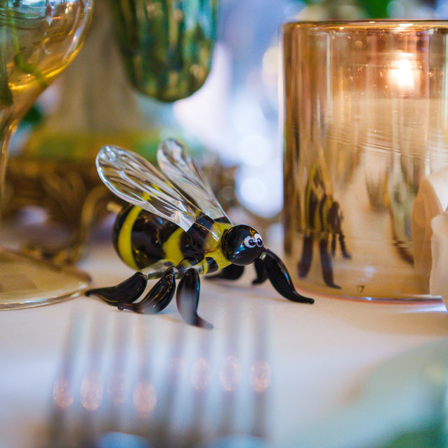 Bee-autiful Handblown Glass