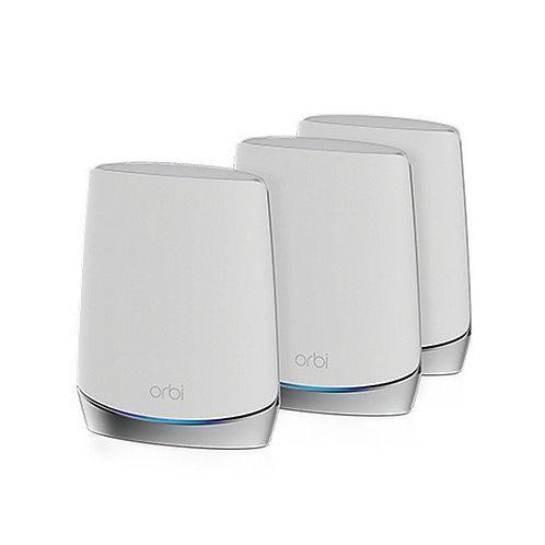 NETGEAR Orbi Mesh WiFi 6 專業級三頻路由器 3 件套裝 (RBK753)
