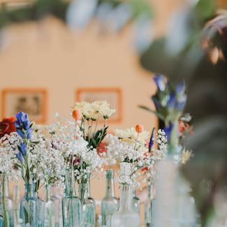 Bud Vases & Blooms