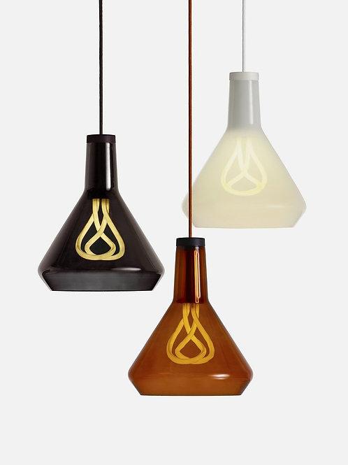 Plumen Drop Top Shade 001 CFL Bulb Pendant Light Set