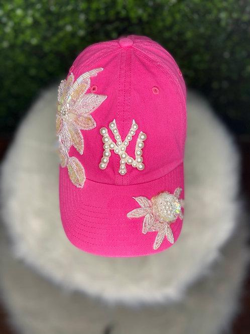 Pink Yankee Cap
