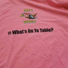 Order a 20 piece wing and get a t-shirt for free!