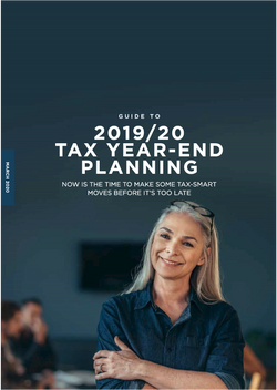 2020 Mar - Tax Year-End Planning