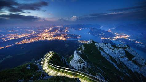 Blick nach Luzern