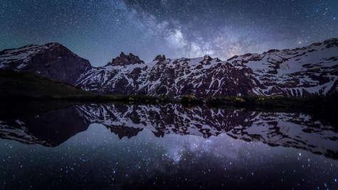 Sternenspiegelung