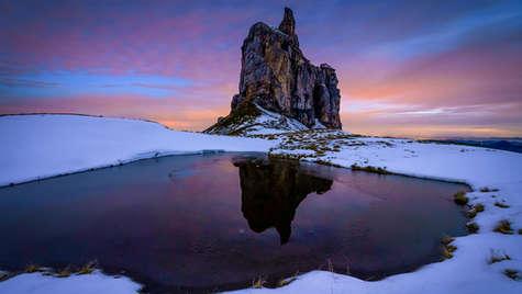 Farbenspiel in den Alpen