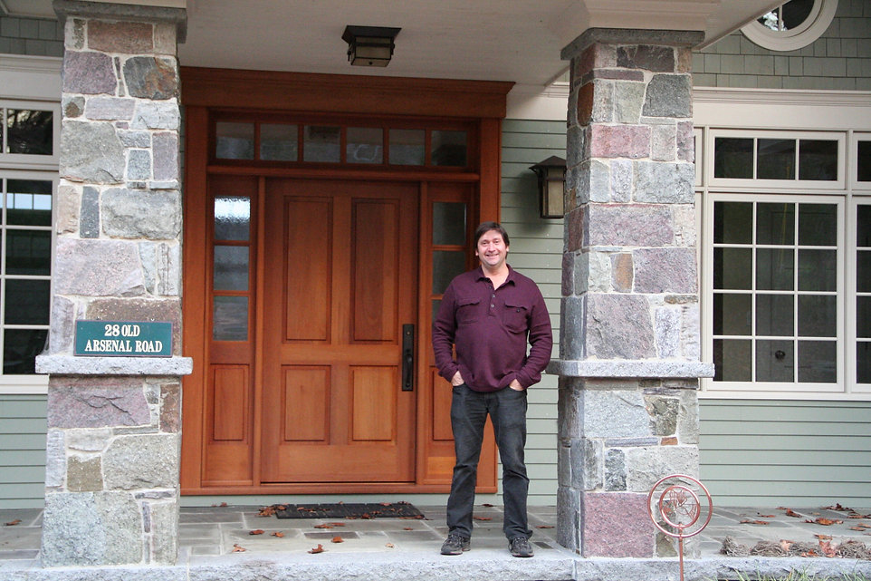 Custom Home by Richard Nelson Architect