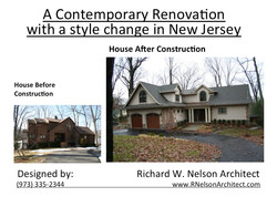 Before and after remodeling